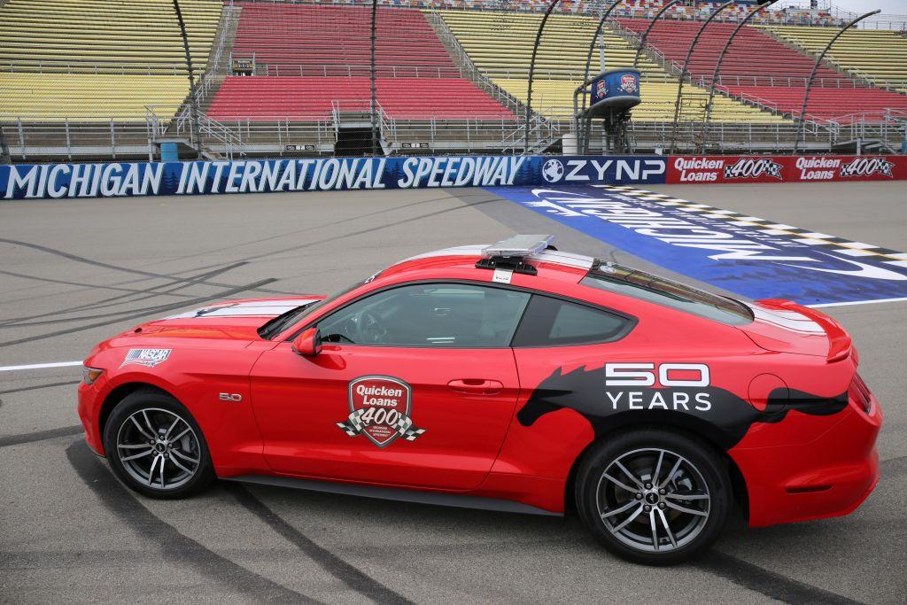 2015 Mustang MIS Pace Car
