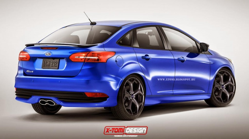 Focus Sedan ST Rendering