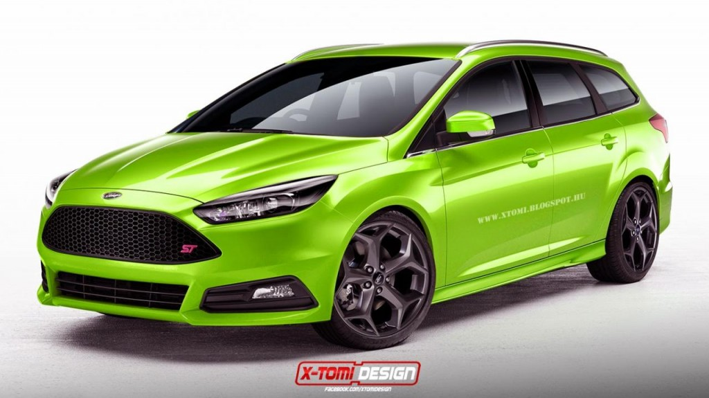 Focus Wagon ST Rendering