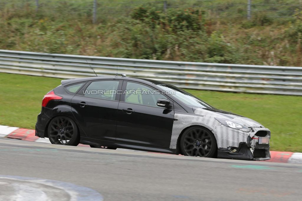 Spy shots Focus RS 2016-10
