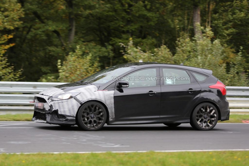 Spy shots Focus RS 2016-11