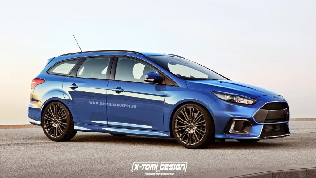 Ford Focus Rs 2016 Wagon Gets Rendered Www Focusmania Com