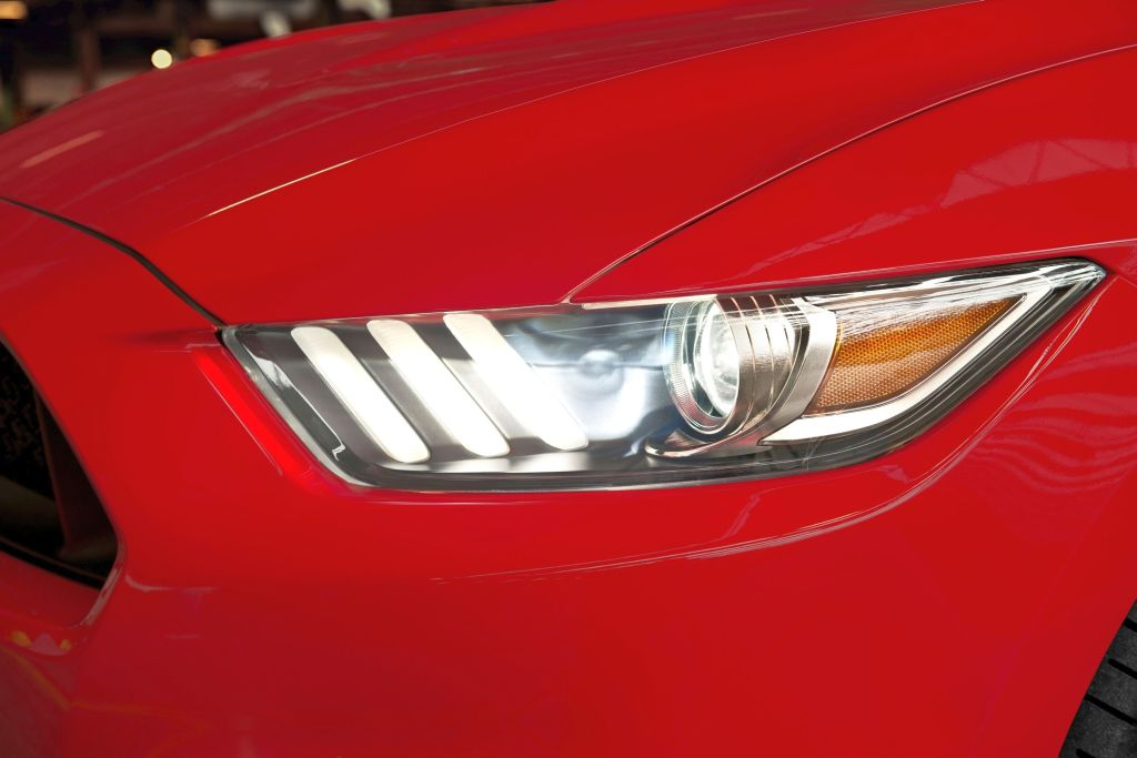 Ford Mustang koplamp