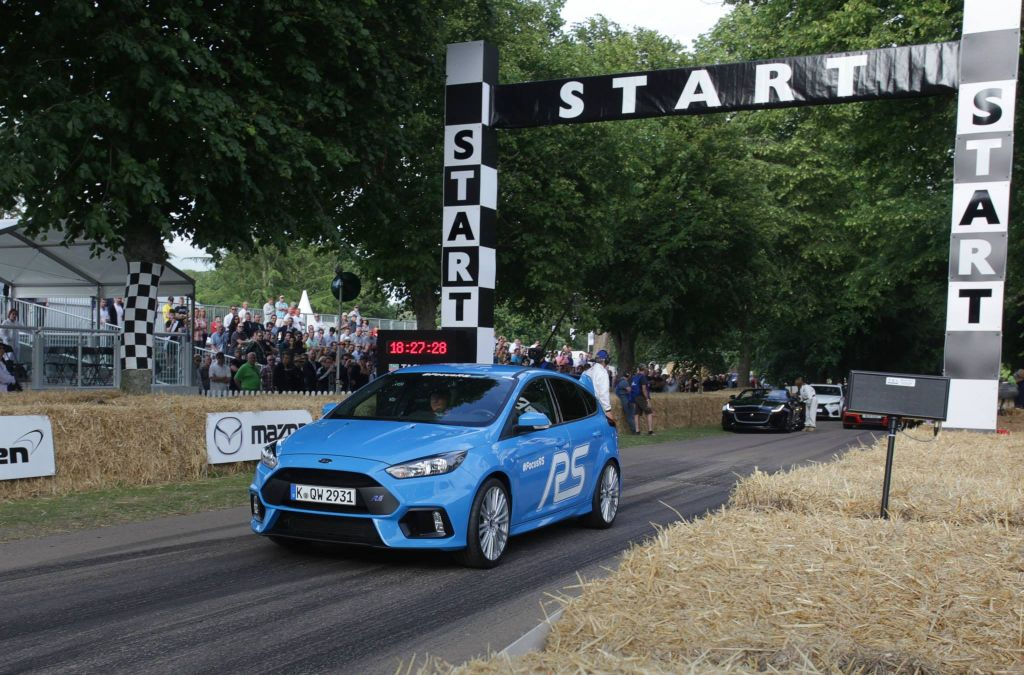 2016 Focus RS on Goodwood 2015