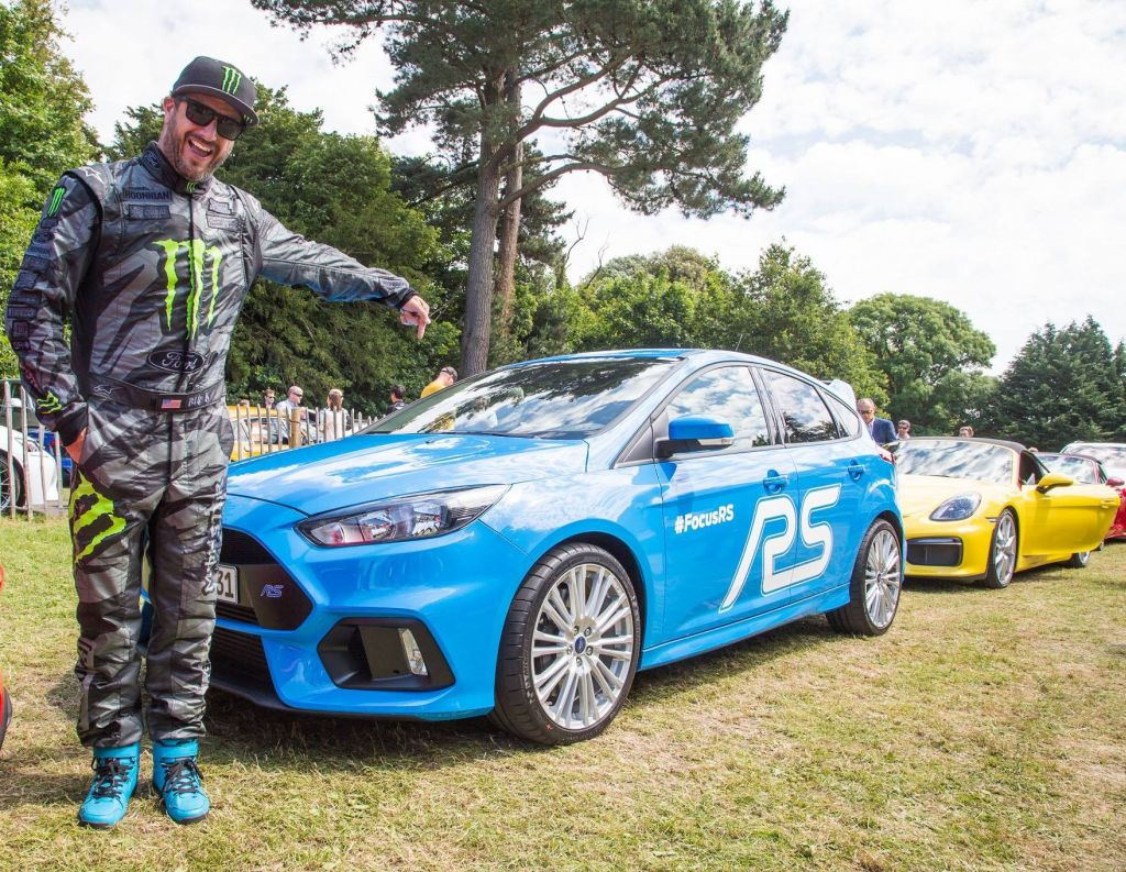 2016 Focus RS on Goodwood with Ken Block