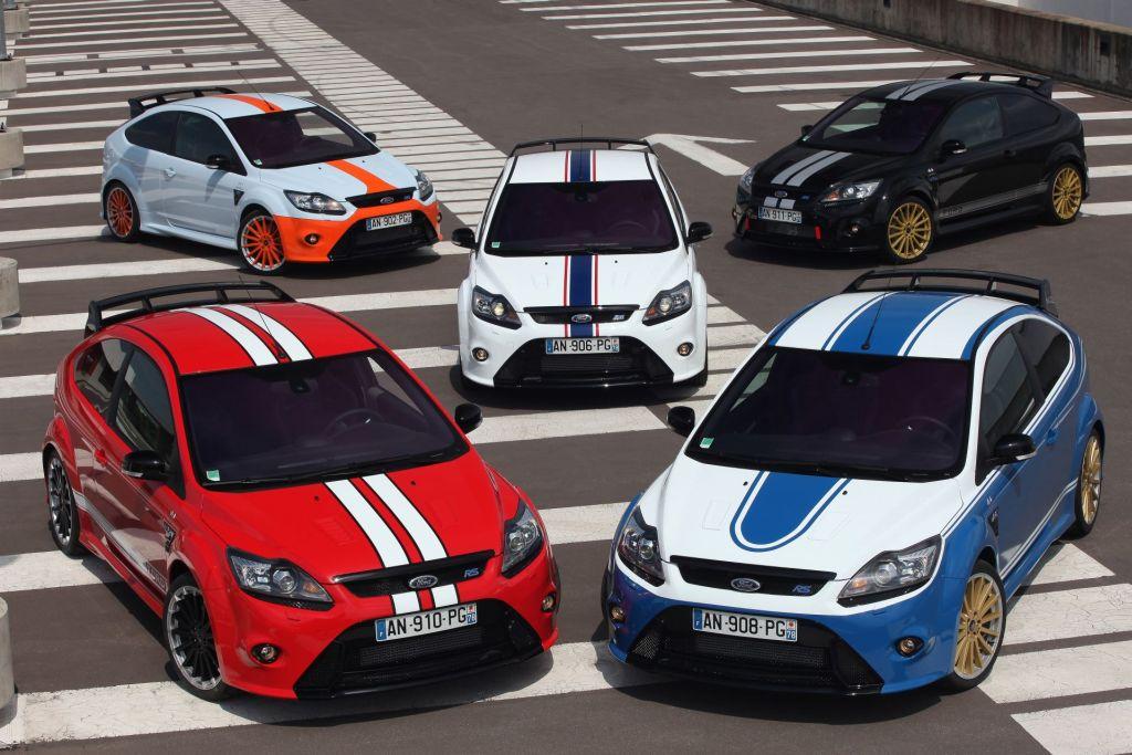 Ford eert met 5 unieke exemplaren 'legendarische Ford Le Mans racers'. 22-06-2010