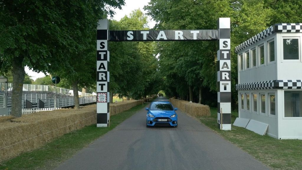2016 Ford Focus RS AWD Goodwood 2015