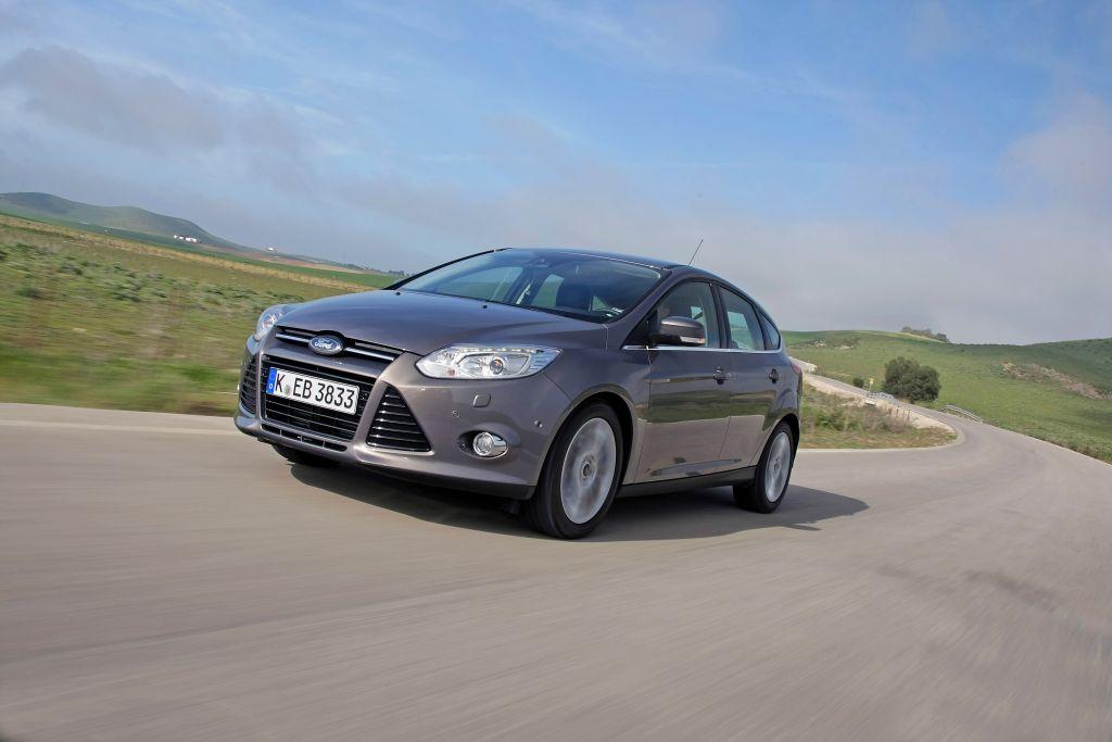 Nieuwe Ford Focus 2012 in de showsrooms