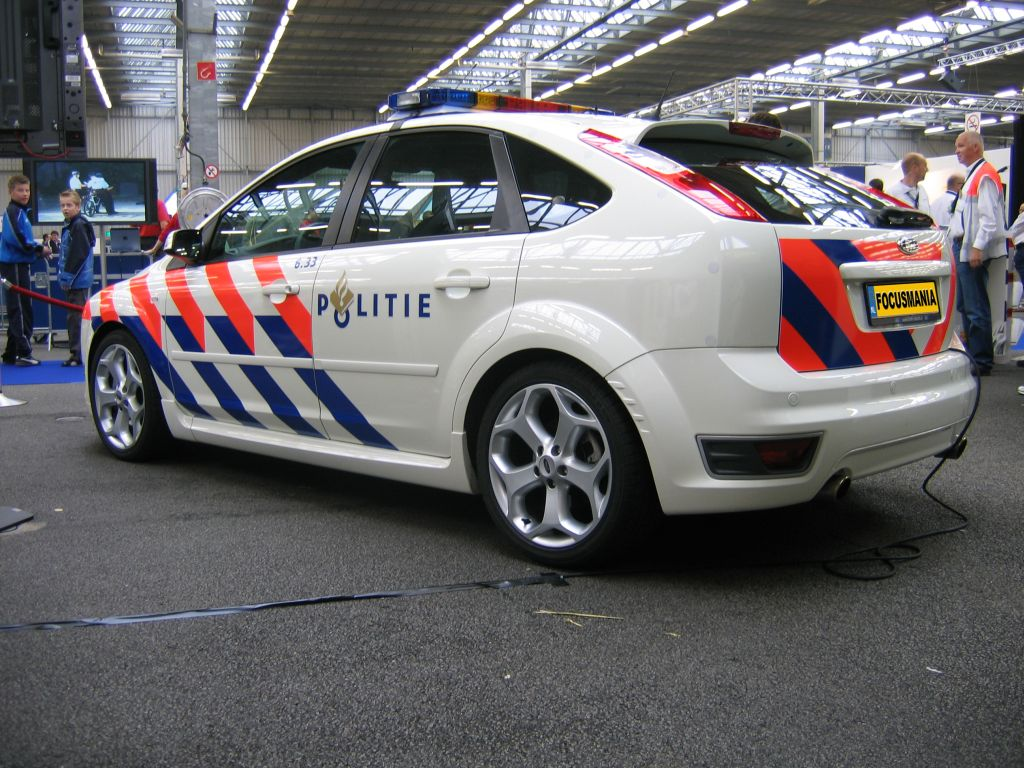 Ford Focus ST II Police The Netherlands 2006