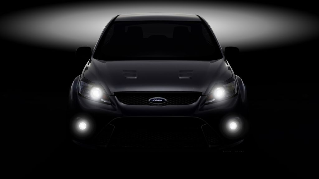 Design Rendering - New Ford Focus RS II (17-12-2007)