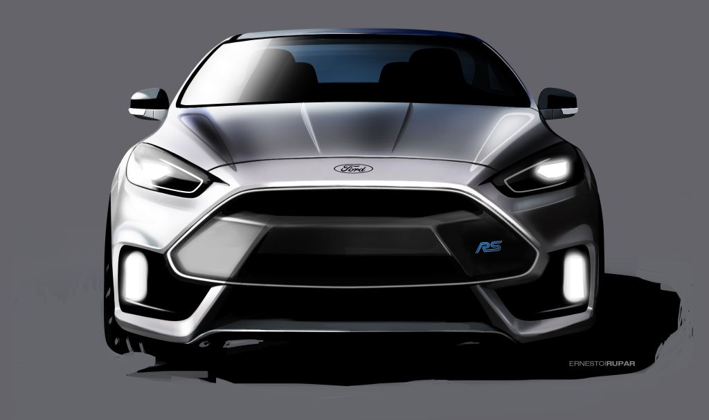 2016 Focus RS Sketch