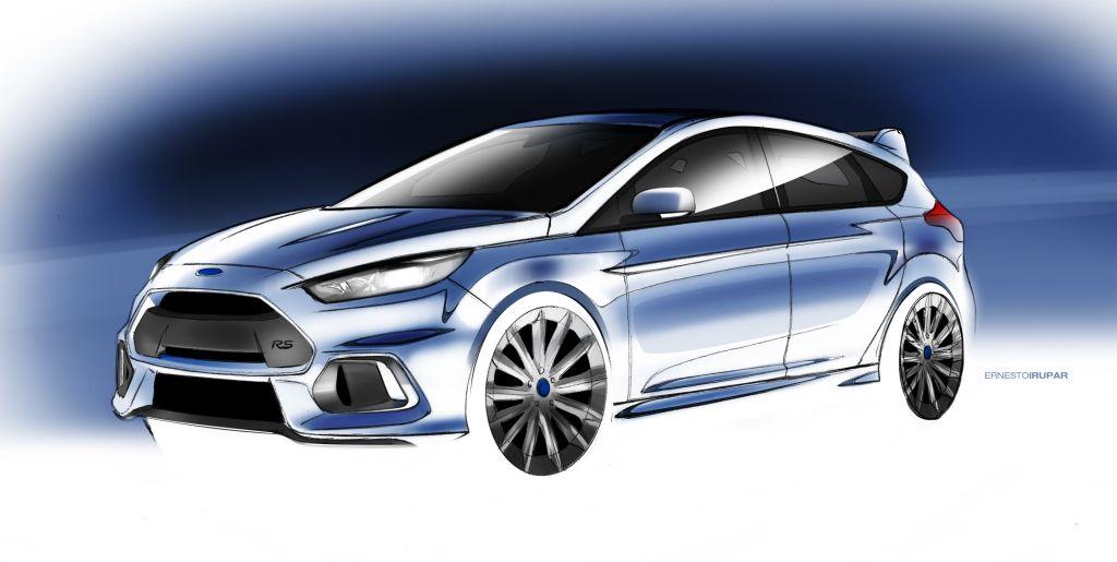 2016 Focus RS Sketch