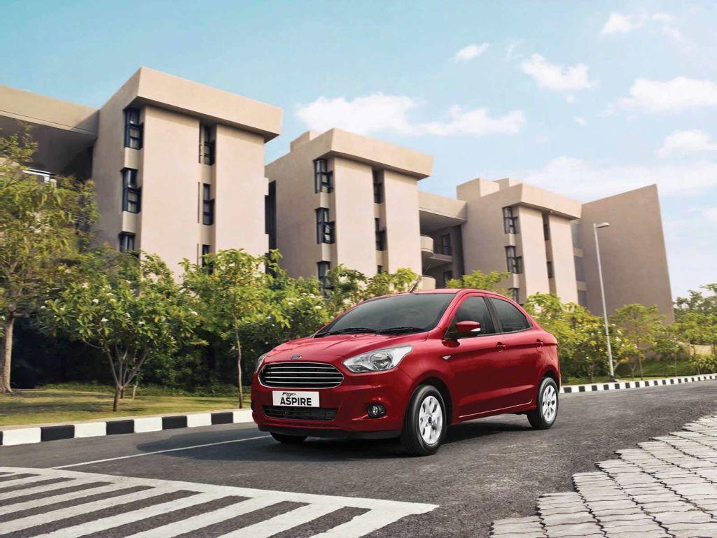 Ford Figo Aspire Sedan for India