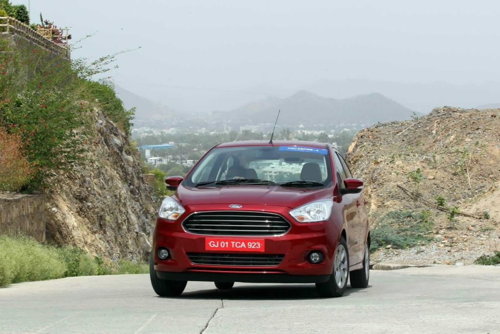Ford Figo Aspire Sedan for India