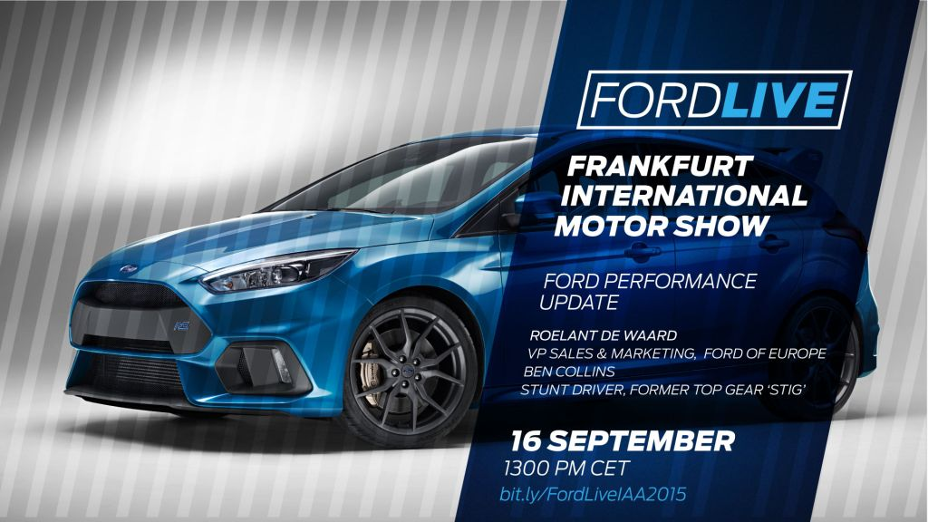 Ford Live at IAA 2015