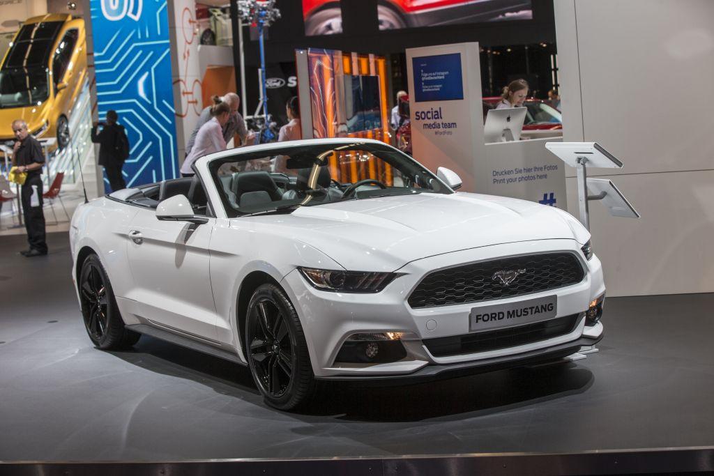 Ford Mustang | Frankfurt IAA 2015
