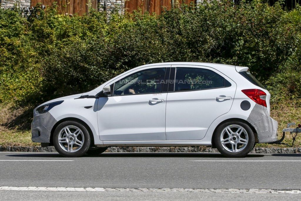New Ford Ka Spied