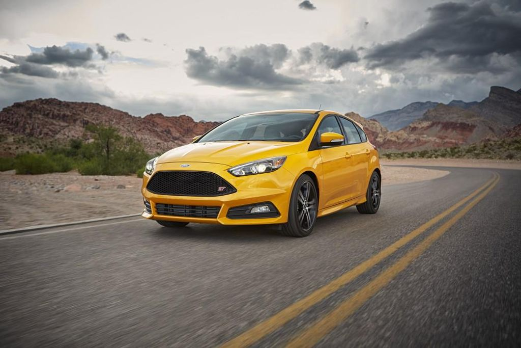 2016 Ford Focus ST Powershift Transmission