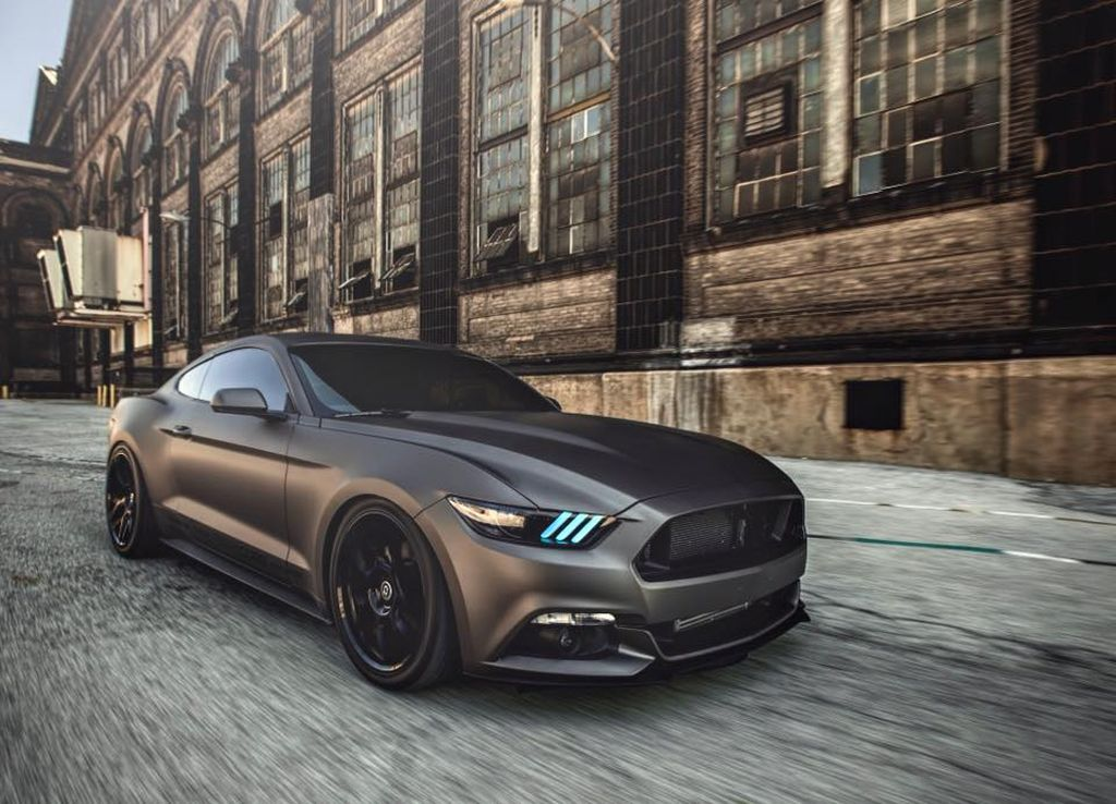 Diode Dynamics on their EcoBoost SEMA build