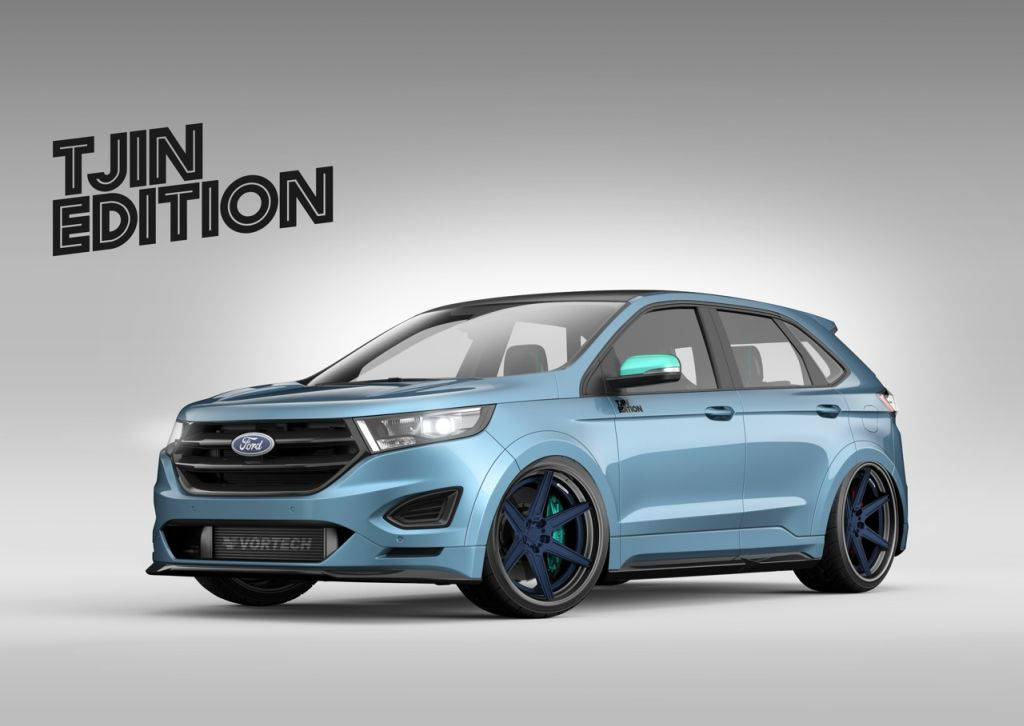 Tjin Edition will show a street performance version of the new 2015 Ford Edge Sport at the Specialty Equipment Market Association (SEMA) show in Las Vegas.