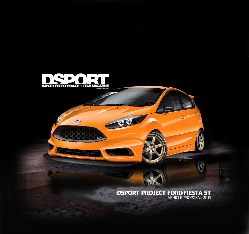 Ford Fiesta ST by DSPORT Magazine