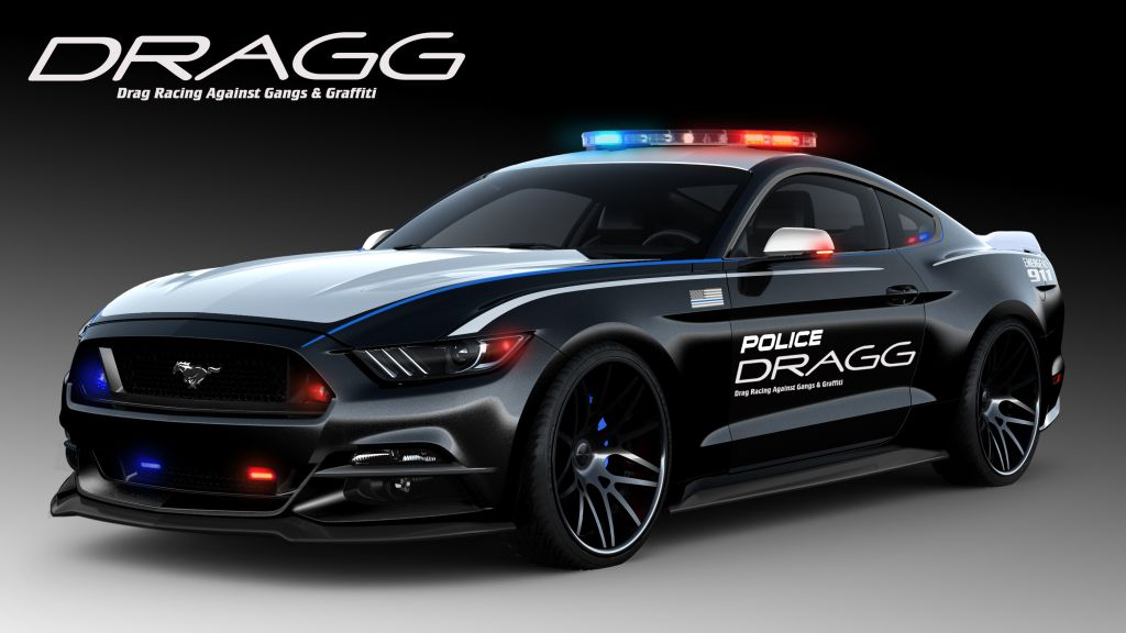 Drag Racing Against Gangs & Graffiti (DRAGG) Mustang
