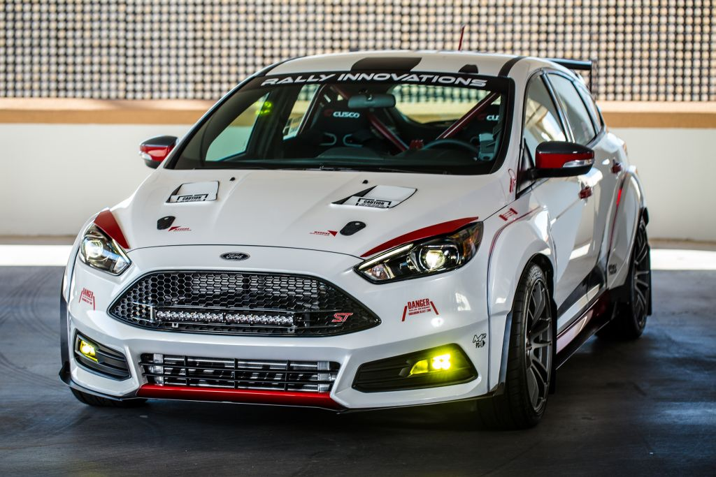Ford Focus was named Hottest Sport-Compact of SEMA at the 2015