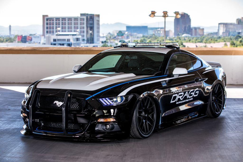 DRAGG Mustang - 2015 SEMA