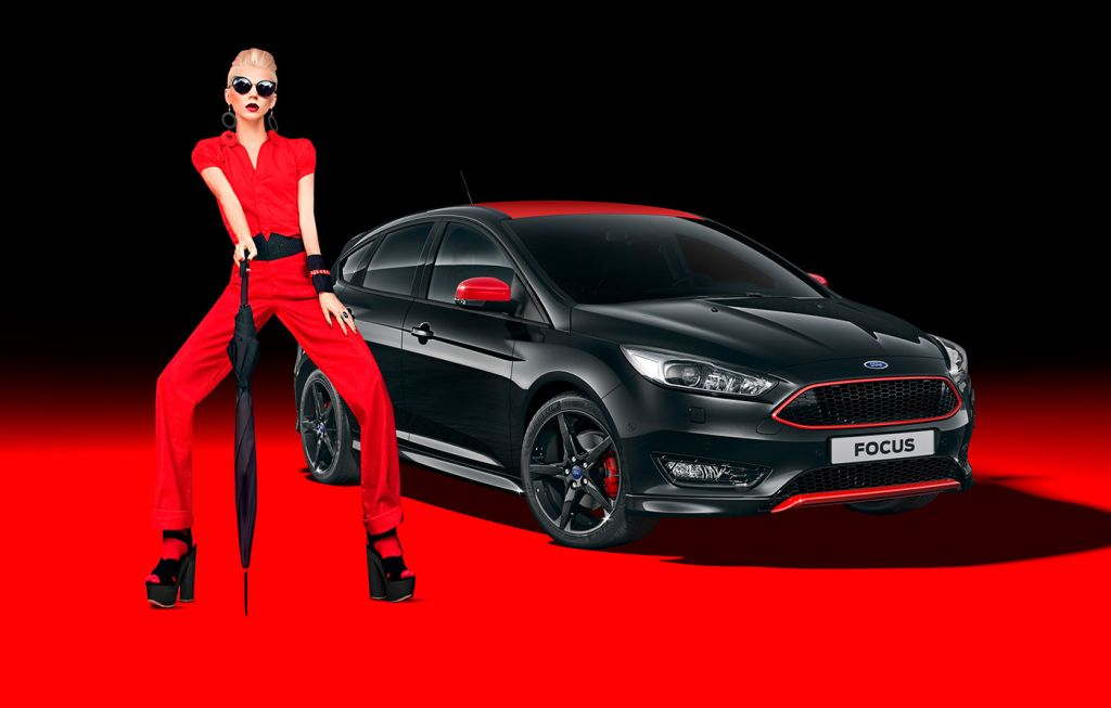 2015 Focus Red And Black (Sport) Edition