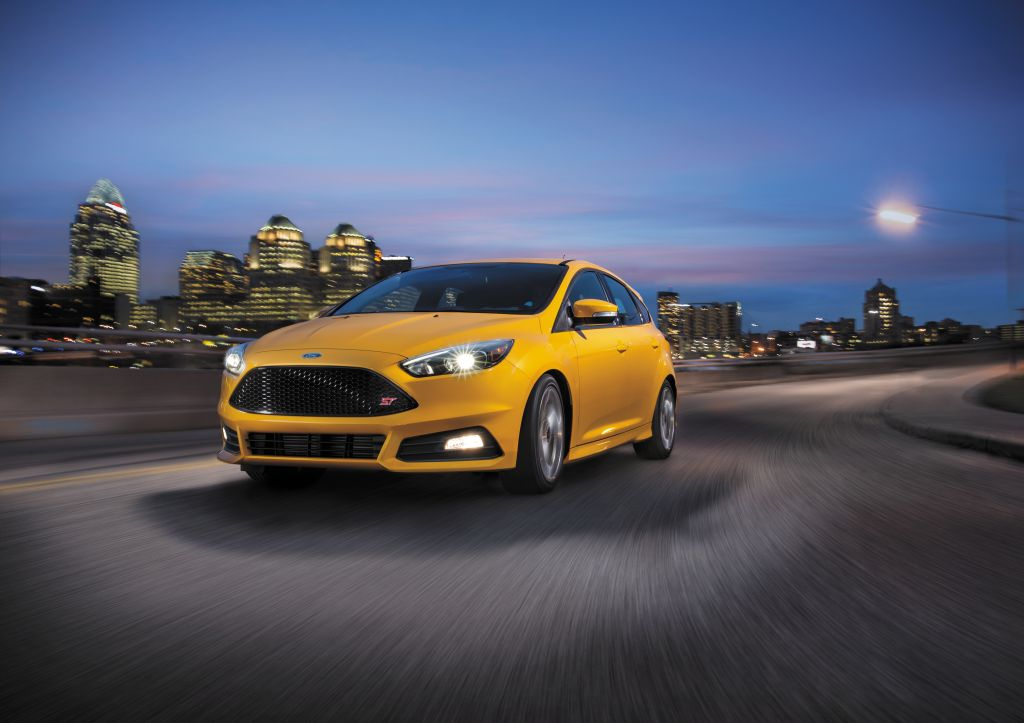 2016 Focus ST diesel Powershift transmission