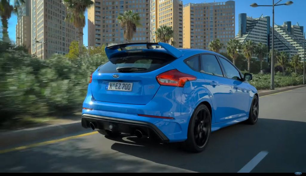 2016 Focus RS drive modes explained