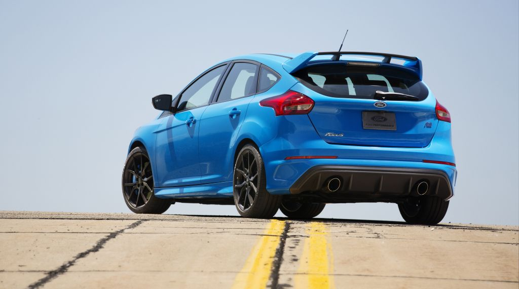 2016 Focus RS in production