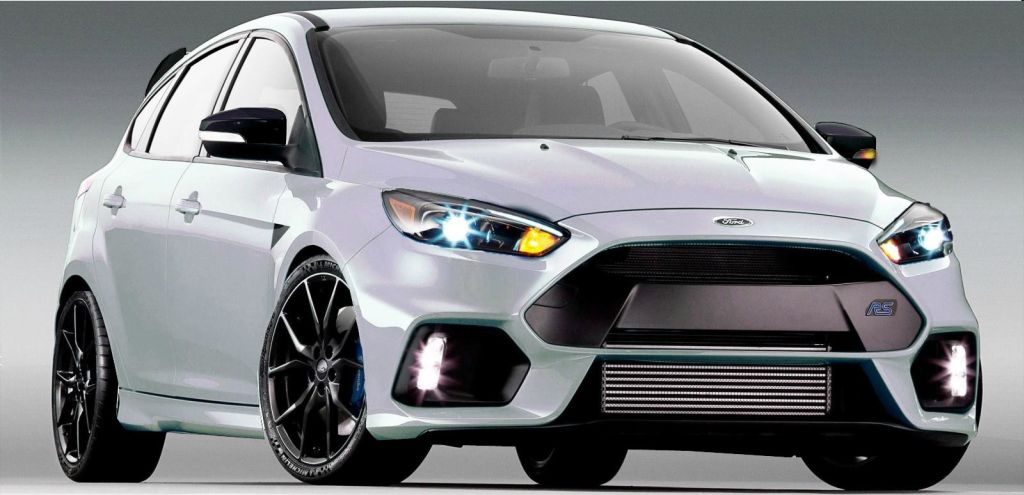 2016 Ford Focus RS uitverkocht