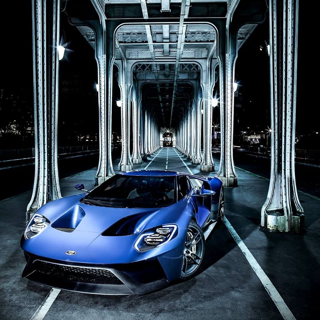 All new Ford GT in France