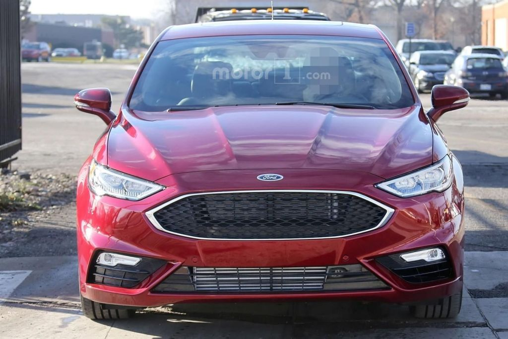 Ford Fusion 2017 spy photo's