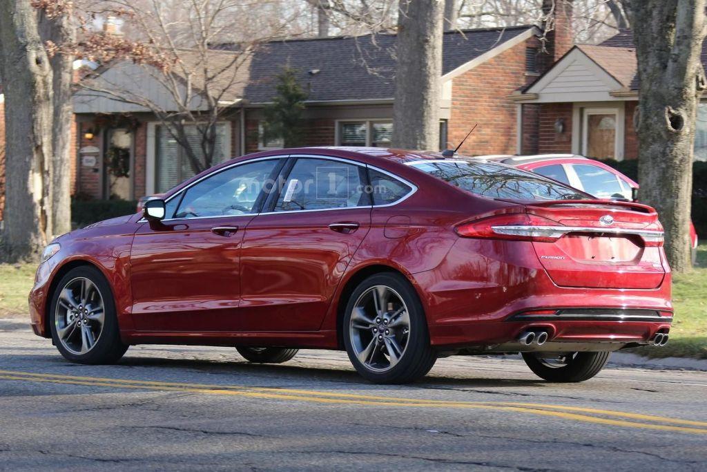 Ford Fusion 2017 spy photo's | Motor1.com