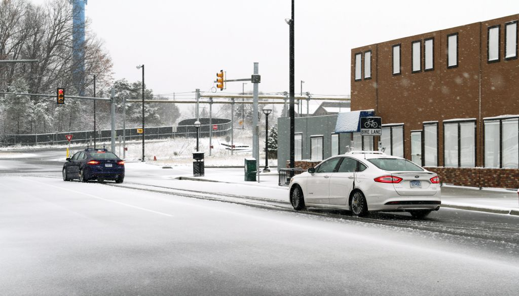 Ford Conducts Industry-First Snow Tests of Autonomous Vehicles