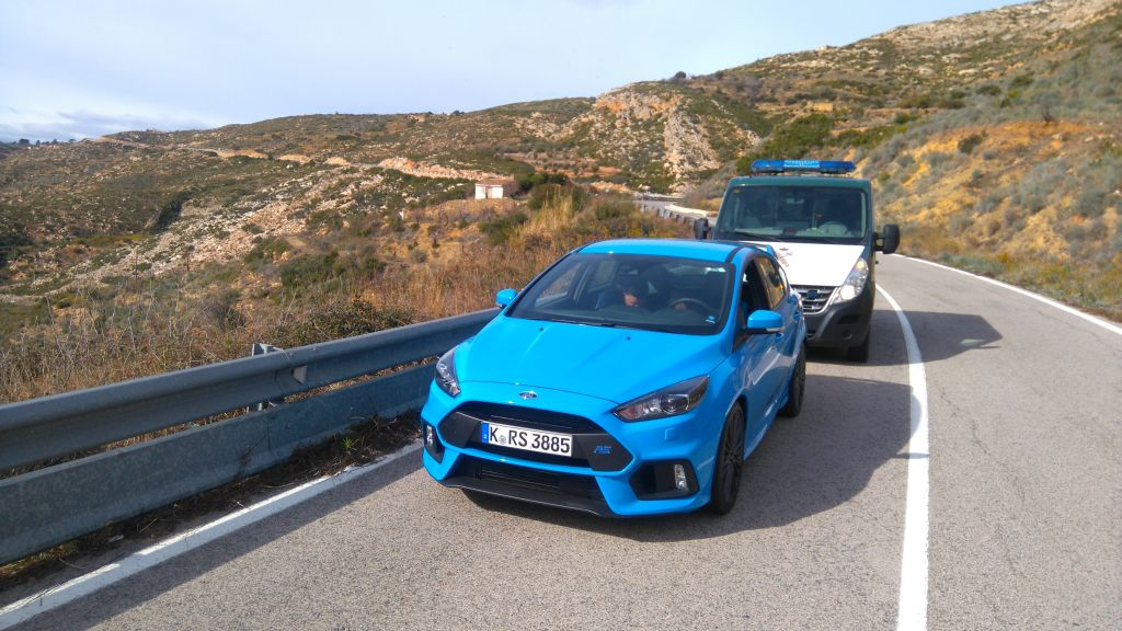 Jalopnik - got A Ticket In The 2016 Ford Focus RS