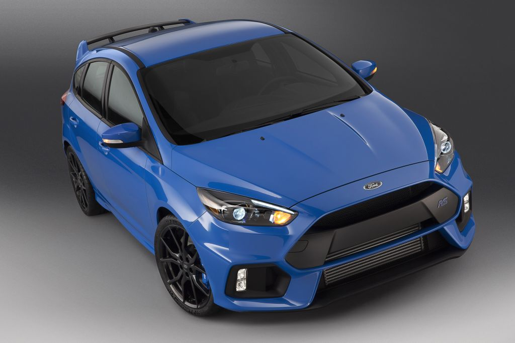 Ford to auction custom 2016 Focus RS at Barrett-Jackson, proceeds to benefit JDRF