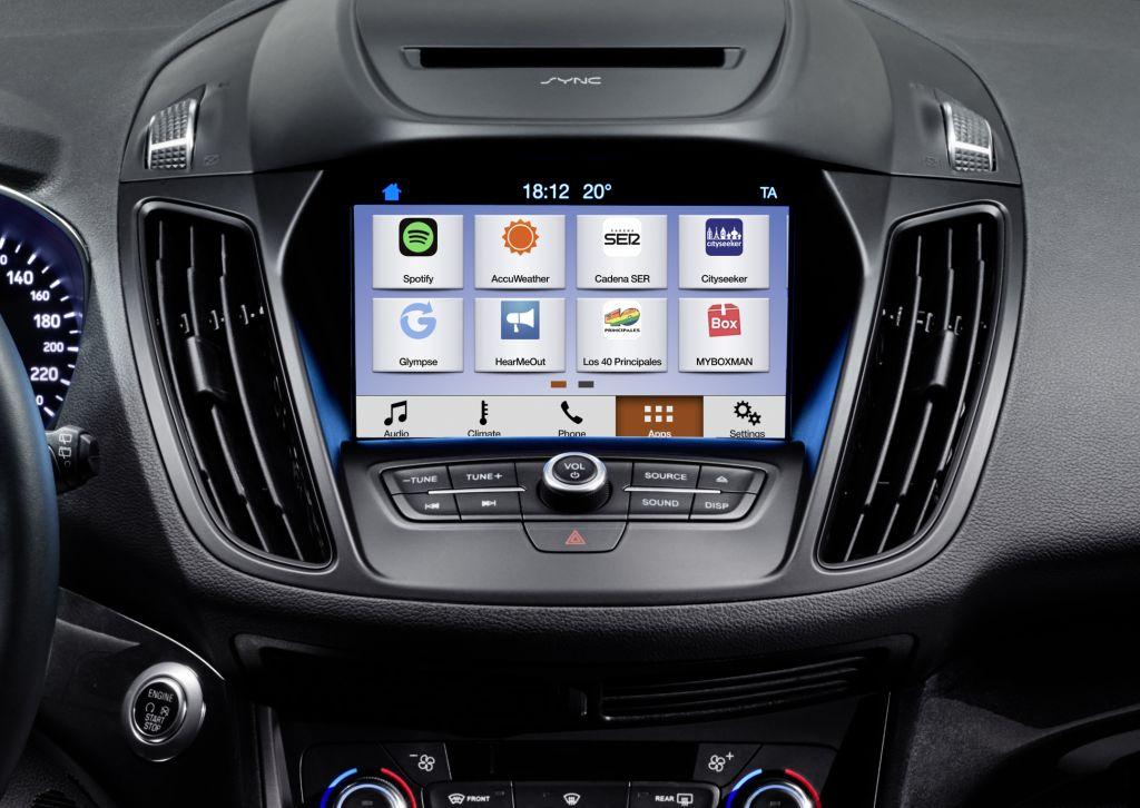 2016 Ford Kuga Sync3