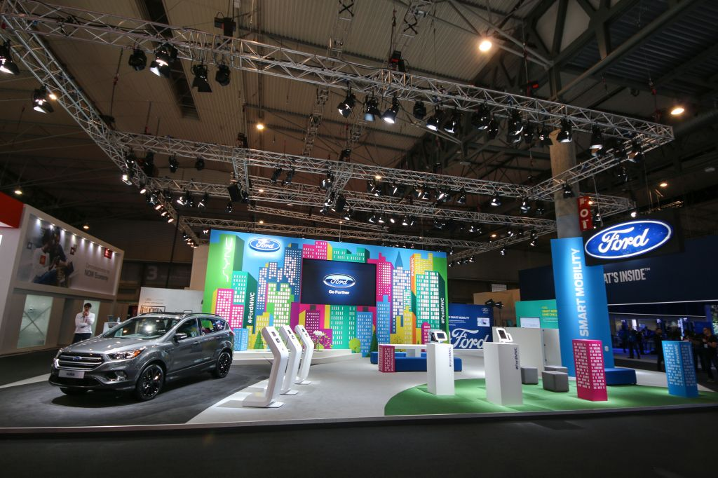 2016 Ford MWC At the Stand
