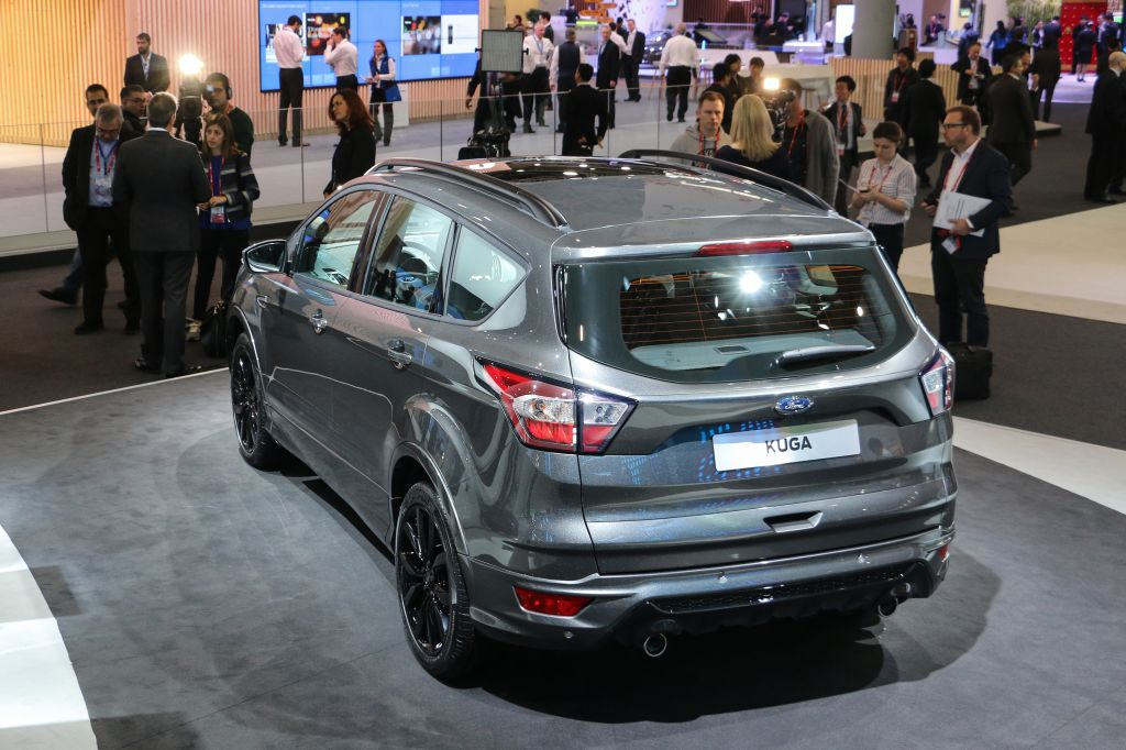 2016 Ford Kuga MWC At the Stand