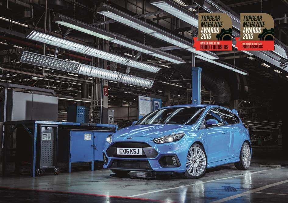 2016 Focus RS Car & Hot Hatch 2016 by Top Gear