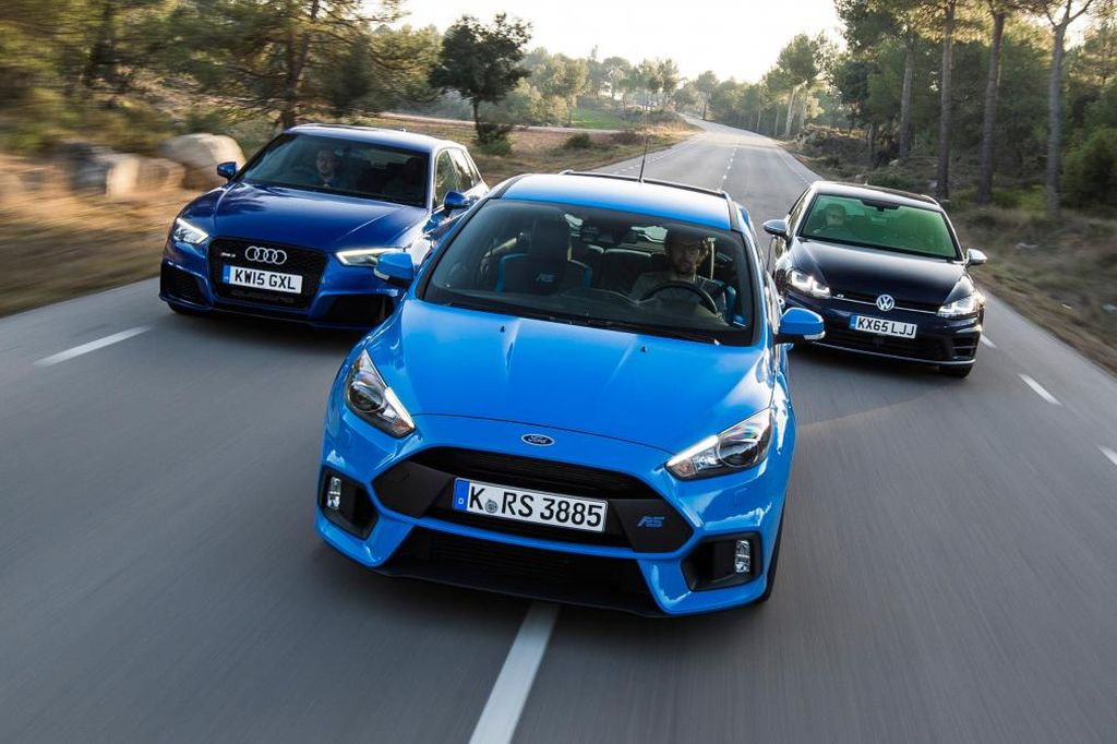 2016 Focus Rs Vs Audi Rs3 Vs Volkswagen Golf R Www