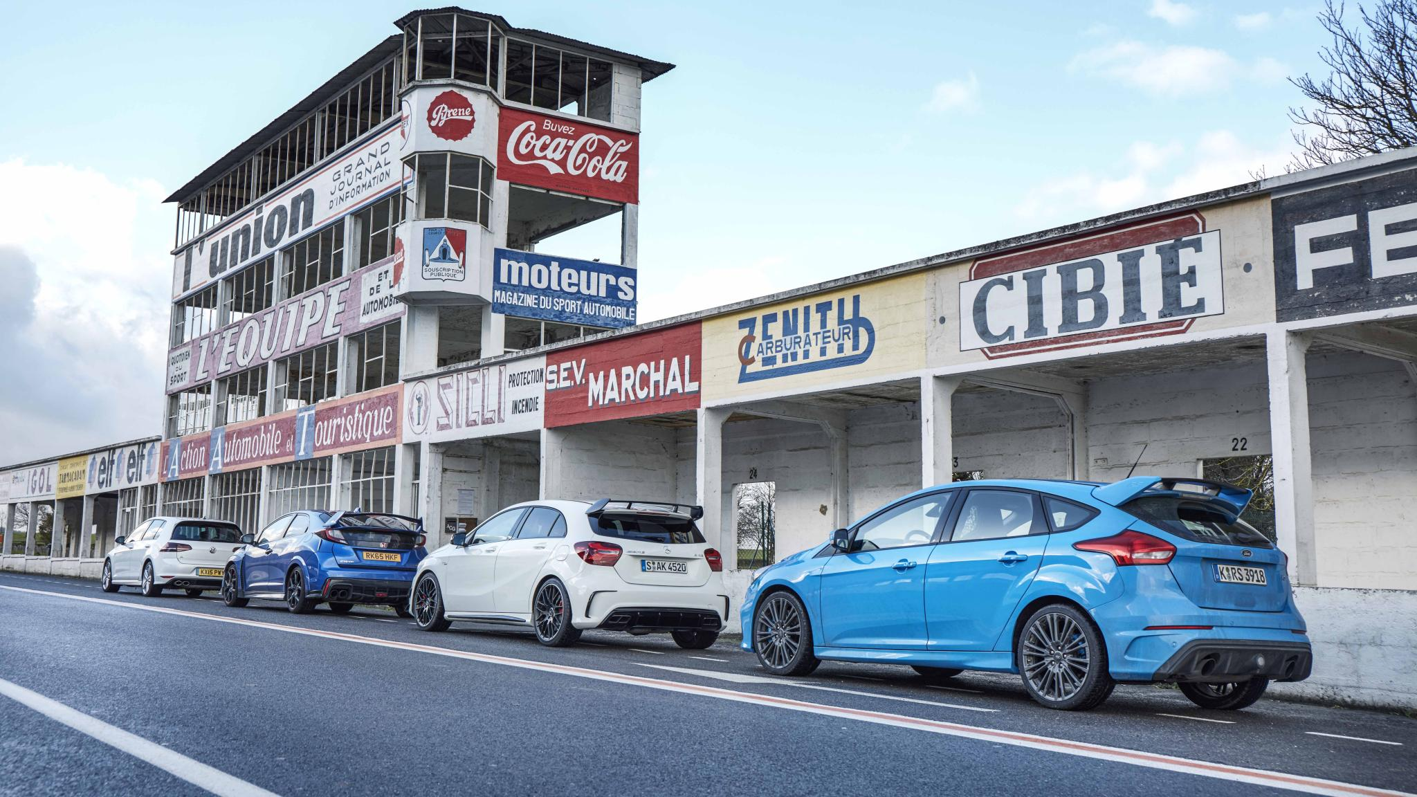 2016 Ford Focus RS - TG Car & Hothatch of the Year 2016