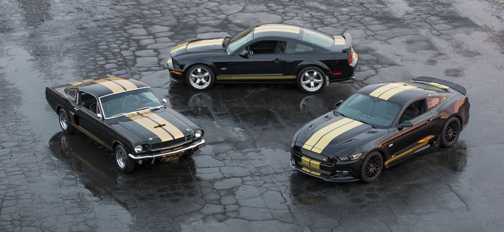 "Shelby GT-H celebrates 50th anniversary of Ford ShelbyHertz GT350-H ""Rent-A-Racer."""