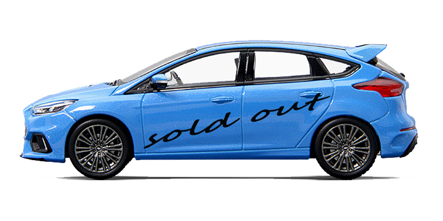 2016 Ford Focus miniatuur uitverkocht