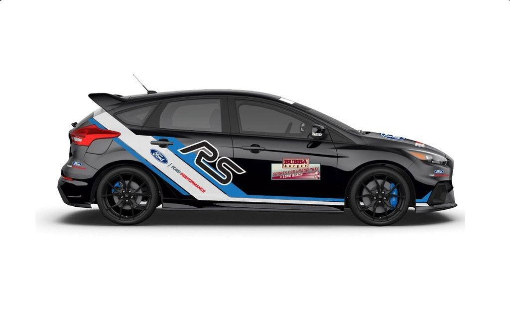 2016 Ford Focus RS safety vehicle