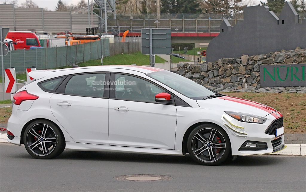 Focus ST testing at the Nurburgring