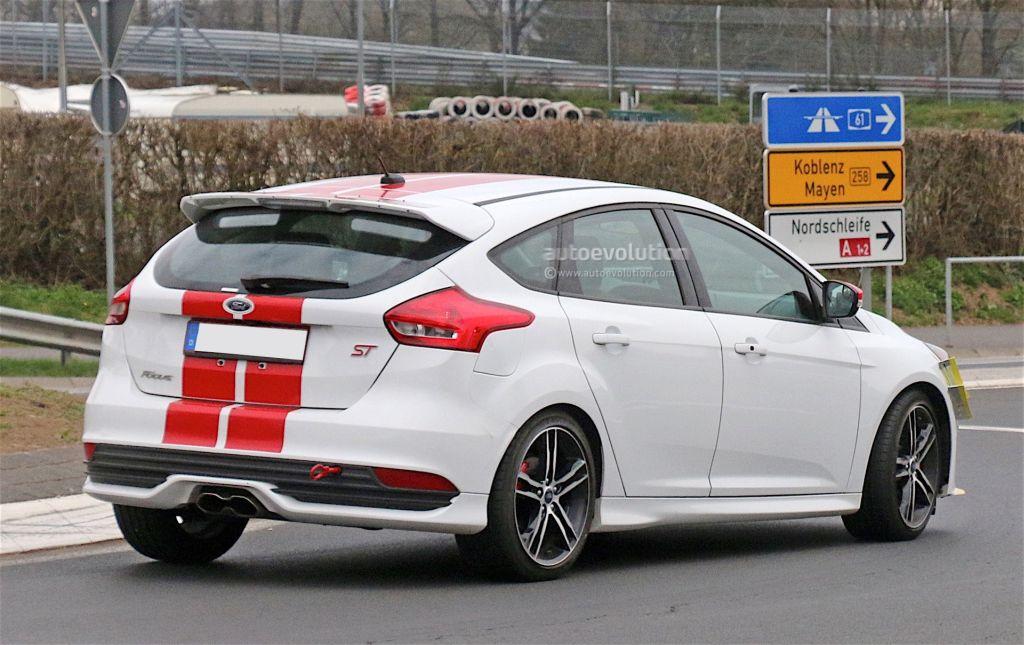 Focus ST testing at the Nurburgring